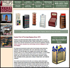 Phillips Enterprises - A company that is a custom manufacturer of Point of Purchase and Point of Sale Displays.